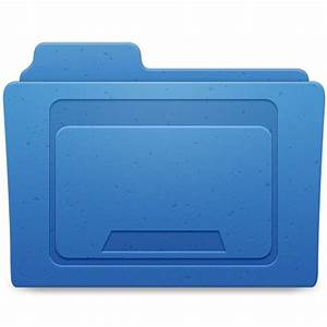 Desktop Folder Icon - BluMarble Folders Icons - SoftIcons.com