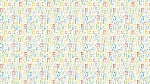 The Alphabet Desktop Wallpaper
