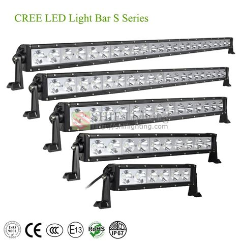 cree led work driving light bar for suv jeep truck shif
