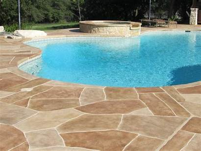Pool Deck Overlay Concrete Cool Construction Allied