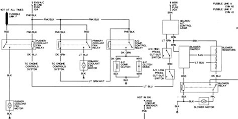 1987 Oldsmobile Cutlas Ciera Wiring Diagram by Solved 1993 Olds Cutlass Ciera Engine Cooling Fan Shuts