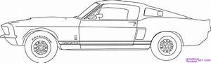 colorful pictures of muscle cars   how-to-draw-a-67-ford-shelby-mustang-gt-500-step-6 - Mes ...
