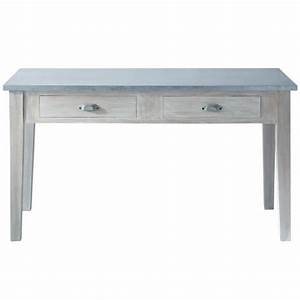 Table A Langer Maison Du Monde : table d ner zinc table de repas rectangulaire maisons du ~ Teatrodelosmanantiales.com Idées de Décoration