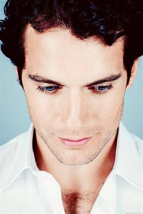 Henry Cavill His eyelashes are gorgeous too!! ♥ # ...