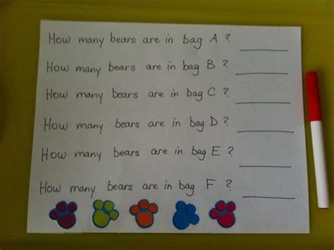 hands  counting activities  early childhood