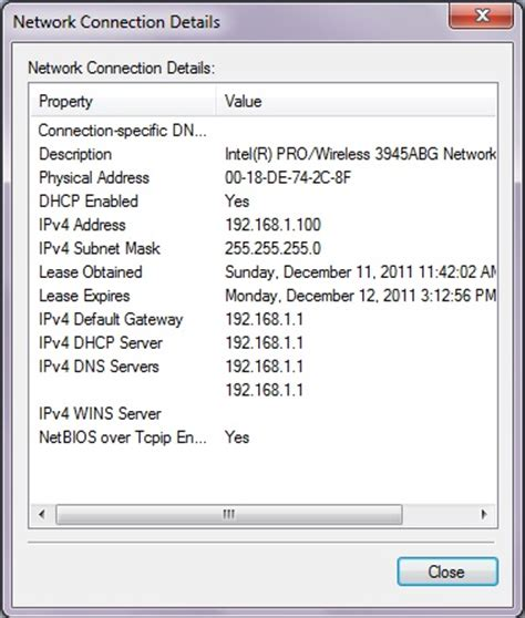 Checking Network Connection Status Windows