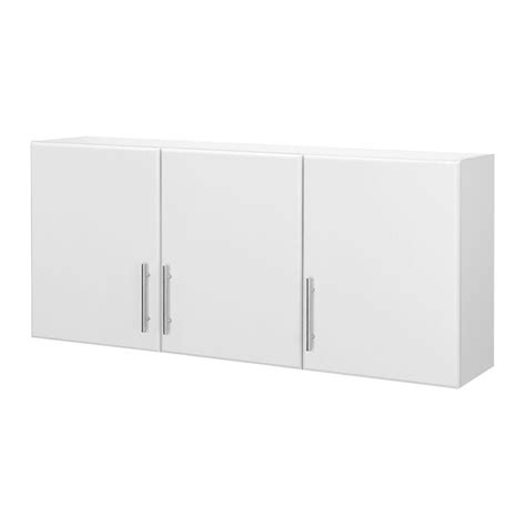 hton bay 24 in h 3 door wall cabinet in white thd90070