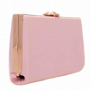 b52cc4d56ecff Buy Ted Baker Womens Light Pink Alivia Clutch Bag at Hurleys