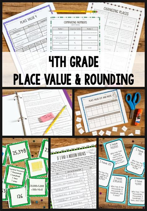tips for teaching 4th grade place value and rounding