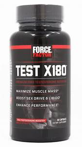 Buy Force Factor - Test X180 Testosterone Booster
