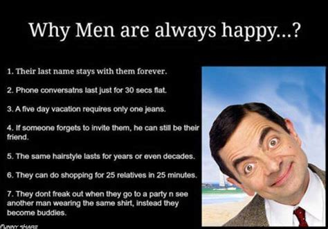 Funny Men Memes - why men are always happy funny pictures quotes memes jokes