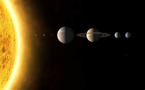 sun outer space solar system planets mars earth jupiter ...
