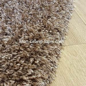 grand tapis shaggy beige sur mesure par mon grand tapis With tapis shaggy sur mesure