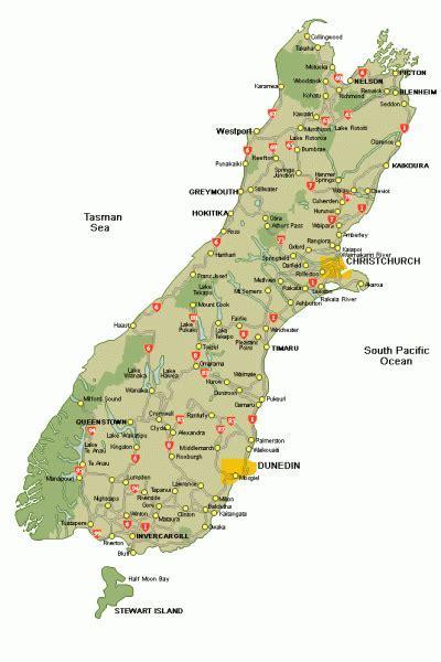 SouthIsland New Zealand Accommodation Hotels Motels Lodges