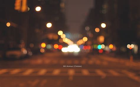 avenue chelsea manhattan  york city bokeh hd