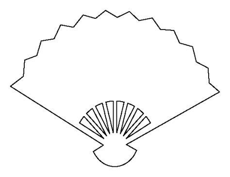 printable fan template
