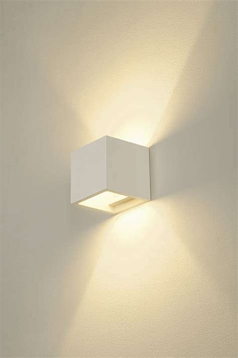 plaster cube wall light imperial lighting