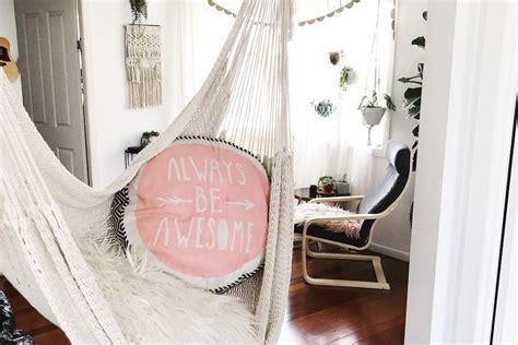ideas  decorating  indoor hammocks