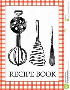 10 best images of cookbook covers clip art recipe book With cookbook covers template