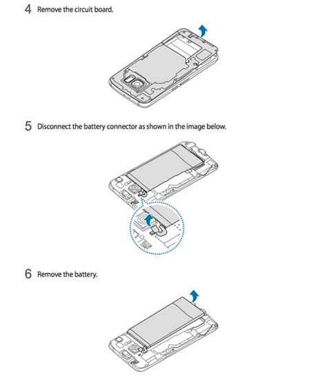 how do you take the battery out of an iphone samsung galaxy s6 s6 edge removing the non removable 21501