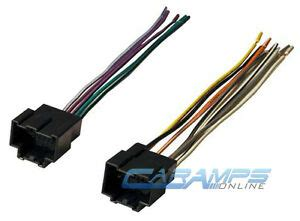 car stereo cd player wiring harness wire adapter installing radio pioneer ebay