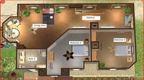 sims  mansion floor plans sims  house floor plans beach