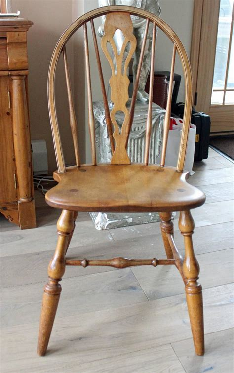 bow brace back dining chairs with