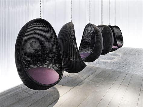 Poltrona Sospesa Autoportante : Suspended Wicker Chair Egg By Pierantonio Bonacina