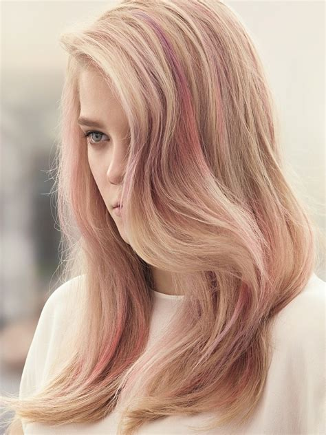 Temporary Electric Ombre Hair Dye Pastel Pink Hair Pink