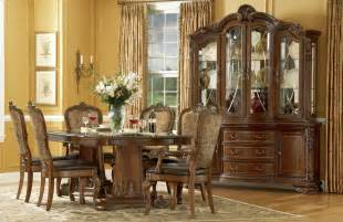 Furniture Dining Room Sets World Formal Dining Room Furniture Pedestal Table Upholstered Chairs