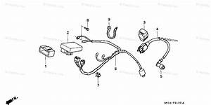 Honda Motorcycle 2001 Oem Parts Diagram For Wire Harness