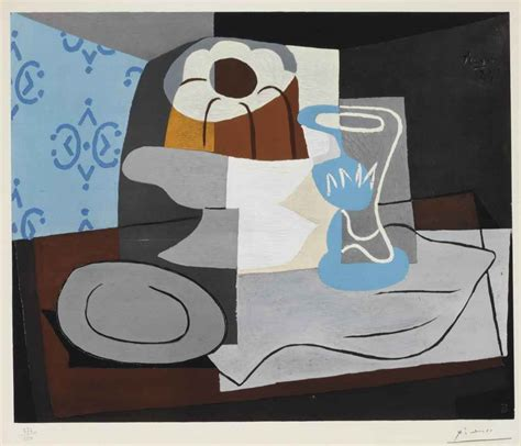 nature morte a la chaise cannee picasso after pablo picasso nature morte 224 la christie s