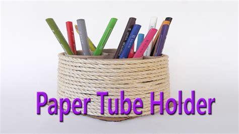 hand  beautiful paper tube holder   waste