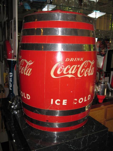 Make a coca cola soda machine for your fridge or refrigerator. Coca-Cola Dispenser Barrel | Collectors Weekly