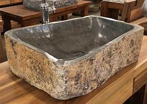 Andesite, Natural, Stone, Vessel, Sink, Extra, Large, 8, At, Impact, Imports