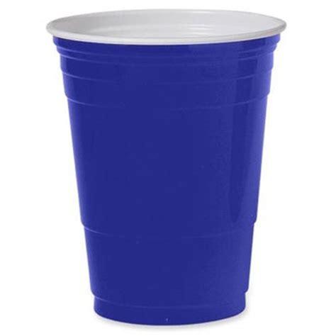 Bicchieri Americani by Comprare Blue Cups Bicchieri Di Plastica 50cl