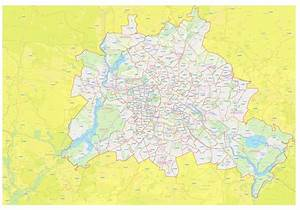 Berlin Plz Karte : karte mit postleitzahlen ~ One.caynefoto.club Haus und Dekorationen