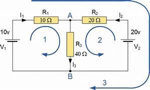 Kirchhoffs Circuit Law | Basic Electronics Tutorials