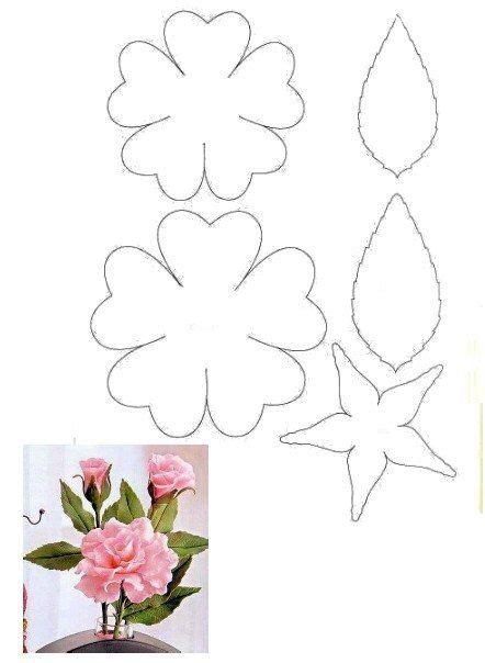 cricut flower template d1r4hlorw 8 jpg 442 215 604 flowers foam silk leather
