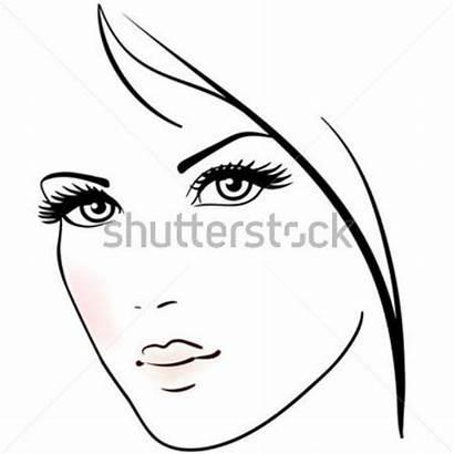 Face Clipart Pretty Woman Clipground