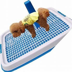 double layer dog toilet pads potty indoor pet litter With indoor dog bathroom