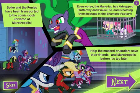 Power Ponies Characters My Little Pony Friendship Is Satukisinfo