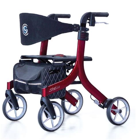 stella walker walkers continent globe medicus rollators supplier overview mobility
