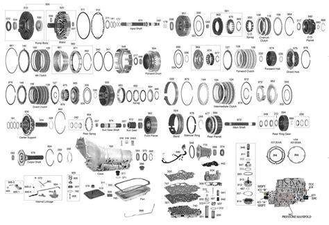4l80e Valve Diagram by 4l80e Diagram Technical Diagrams