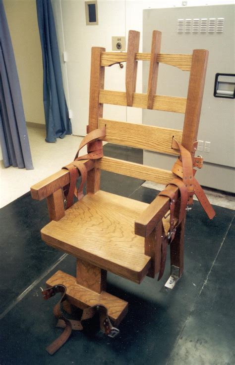 chaise electrique en electric chair