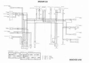 Honda Xr250 Wireing Diagram Manual
