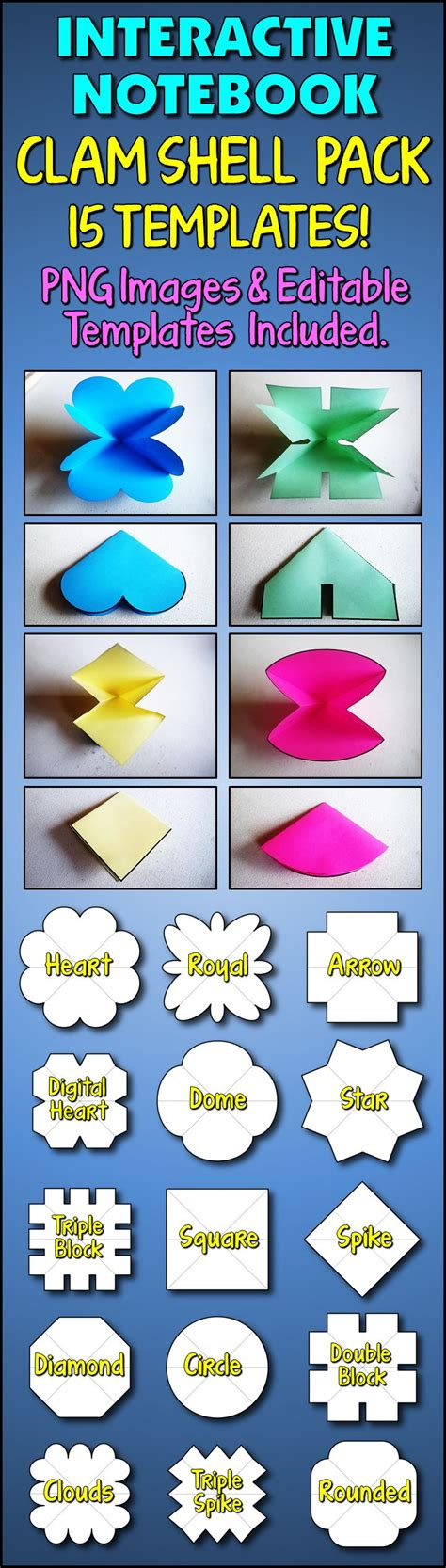 clam shell templates lapbook 17 best ideas about clam shells on pinterest art