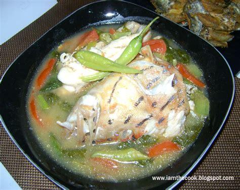 sinigang lapulapu head grouper miso sa cook am desired adjust simmer serve taste