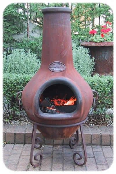 Chiminea Clay Or Iron - cast iron chiminea pits chimineas them