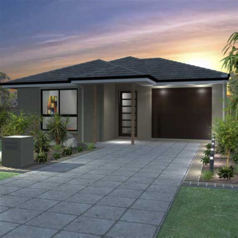 4 bedroom one house plans single storey house plans designs pj burns builders